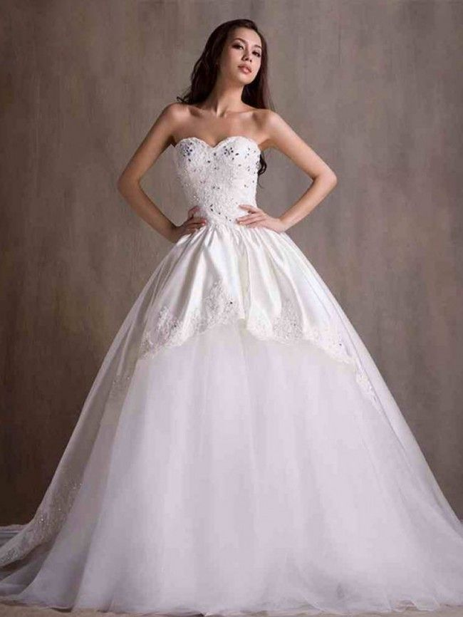 ウェディングドレス  結婚式 二次会ドレス 花嫁 Hlb0071
