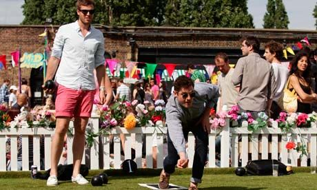 Is lawn bowls about to turn trendy?