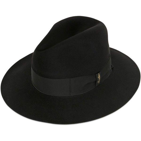 Borsalino Men Anello Gazzella Long Fur Felt Hat