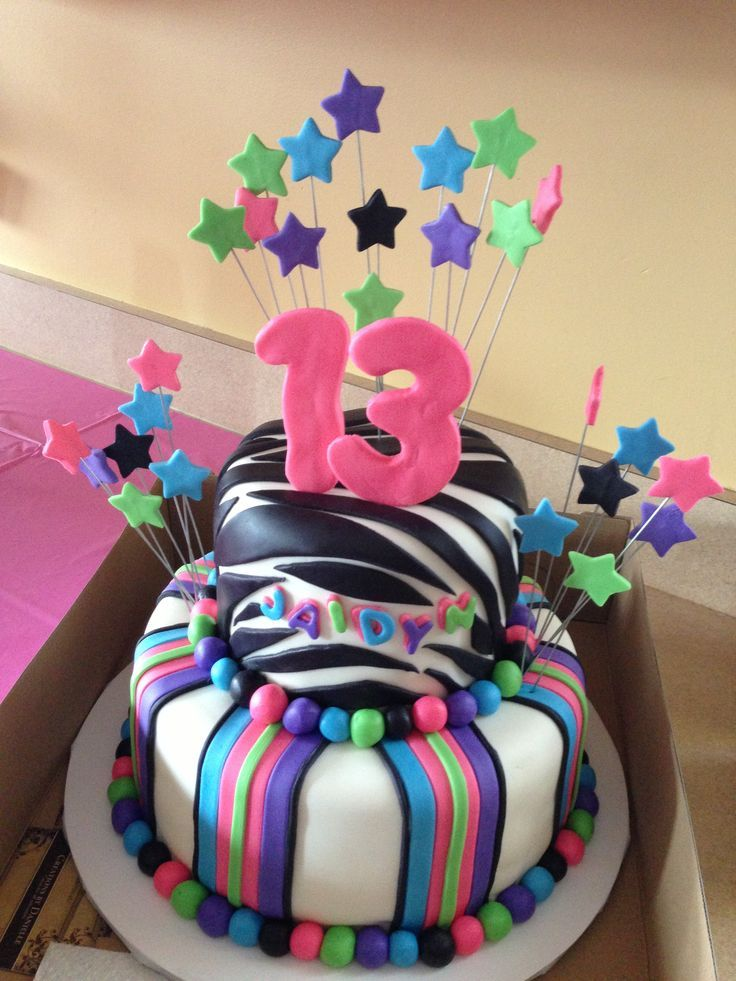 10 Best Bday Cakes Images On Pinterest Birthdays 13 Birthday And