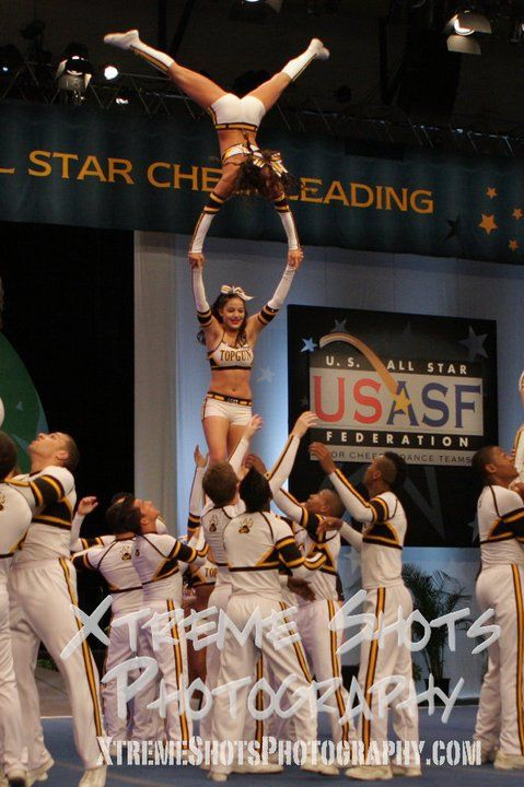 Top Gun, that's what I call cheerleading.