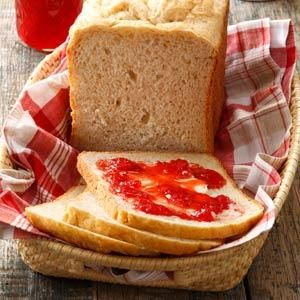 Soft Oatmeal Bread Recipe -My husband loves to make this bread. With its mild oat taste and soft texture, it's sure to be a hit with the whole family. Slices are great toasted up for breakfast, too. —Nancy Montgomery, Plainwell, Michigan