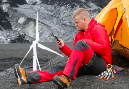 Портативная ветряная турбина Trinity— позволит запитать не только гаджеты, но и целый дом