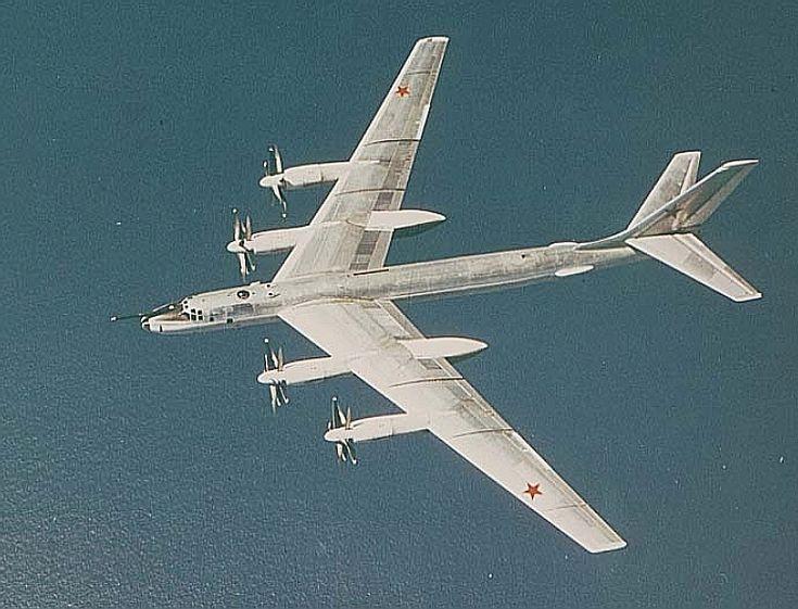 Tupolev Tu-95 and Tu-142 Bear