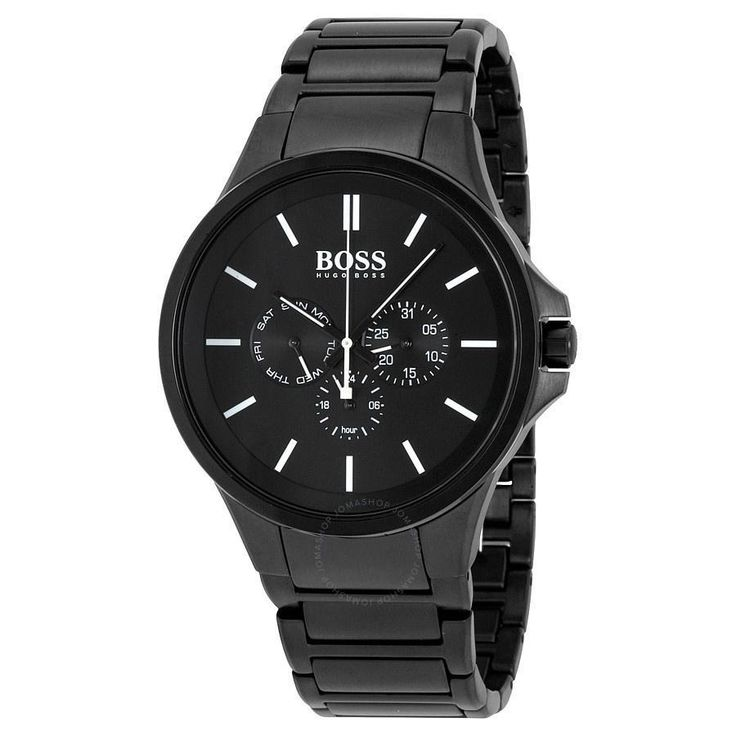 Hugo Boss Men's 1513172 Gravity Multi-Function Black Stainless Steel Watch