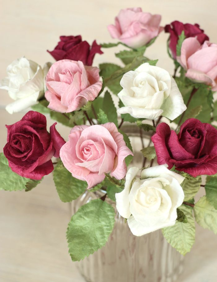 First Wedding Anniversary Gift Bouquet Paper Roses Paper Roses