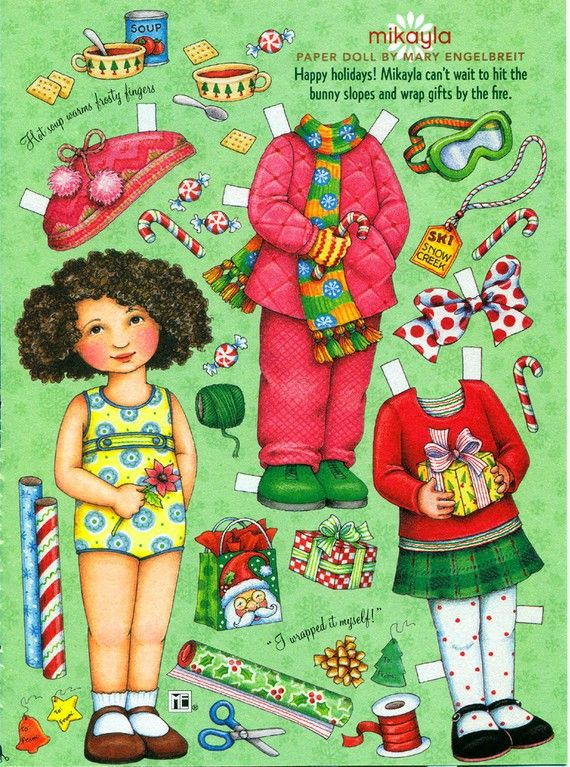 Paper Doll Paper Doll by Mary Engelbreit