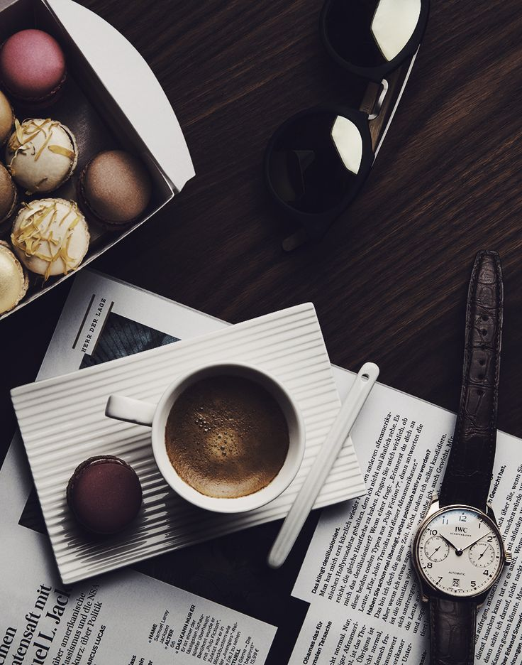 Its Always Coffee Oclock Discover The IWC Portugieser Automatic Classic Design