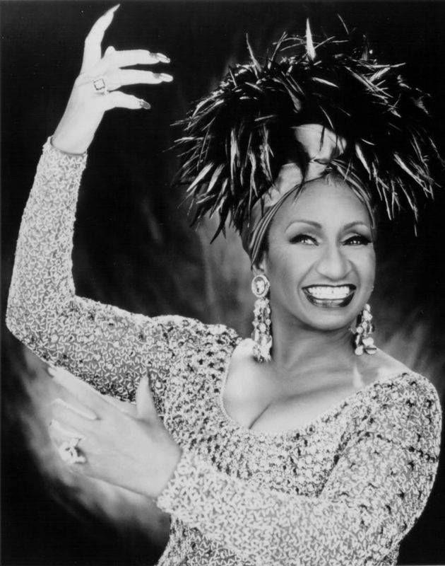 The great Celia Cruz.