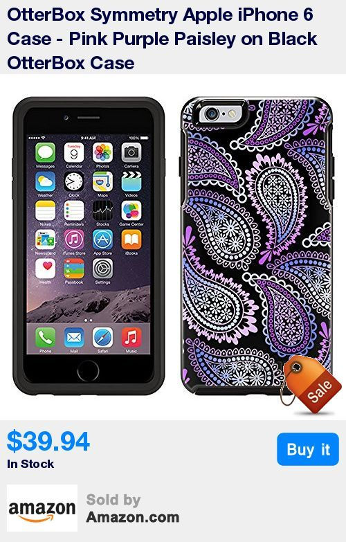 Custom Made-To-Order Authentic OtterBox Symmetry iPhone 6 Case. High Definition UV Printing that will not scratch or peel off. * Sleek, stylish, pocket-friendly design. Wraparound colors and graphics add seamless style * Dual-material construction absorbs
