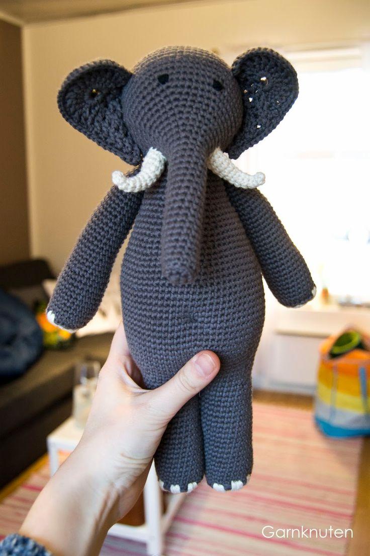 Crochet elephant!