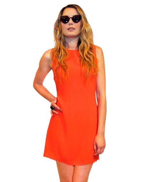 Cross Back Dress from Something Else $159