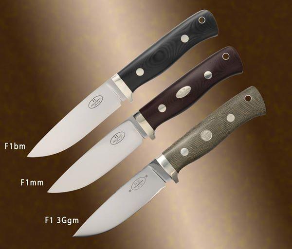 Tri Generacije F1bm F1mm I F1l3ggm Black Micarta
