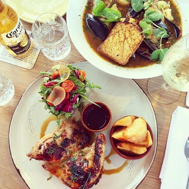 Lunchtime perfection at Whisky Boy Noosa!