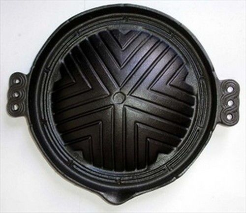Cast Iron Mongolian BBQ Dome Griddle Plate #7317