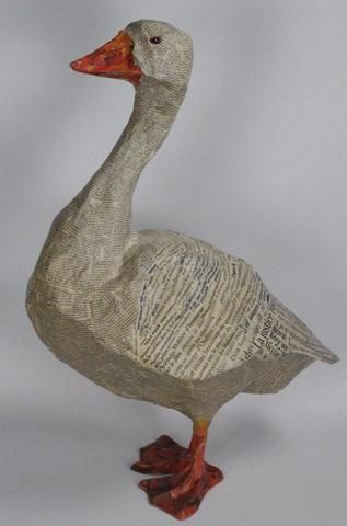 344 best images about papier mache on pinterest for Paper mache structure