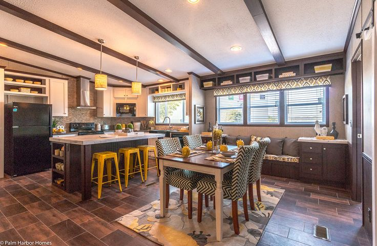 Our latest featured manufactured home model is the Arlington by Palm Harbor Homes. See the home professionally decorated for great inspiration and ideas.