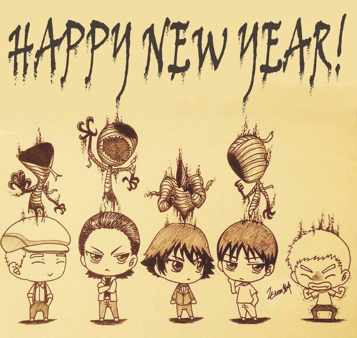 Happy New Year - chibi Ajin
