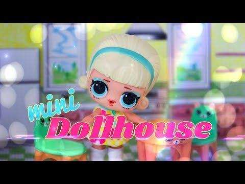 (17) DIY – How to Make: Druckbare Mini Dollhouse Perfekt für LOL Überraschung   Geschäft…   – Doll House: Toy Time; Fun ideas