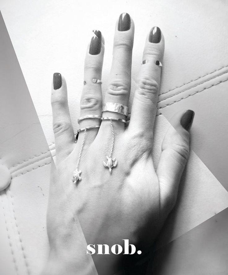 CHAIN RINGS 925 silver https://www.facebook.com/snobdot www.snobdot.com