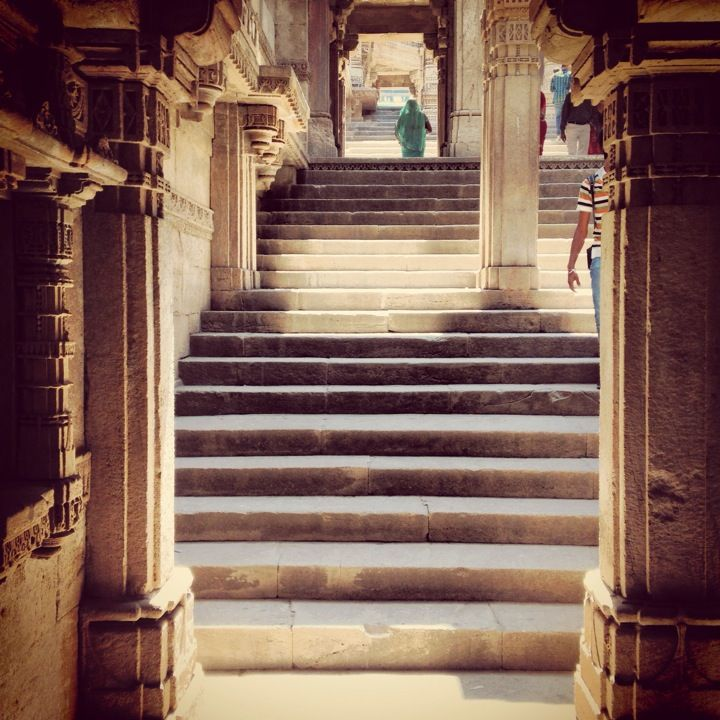 Adalaj Step Well in Adalaj, Gujarāt