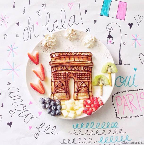 Le Food Art de Samantha Lee Photo