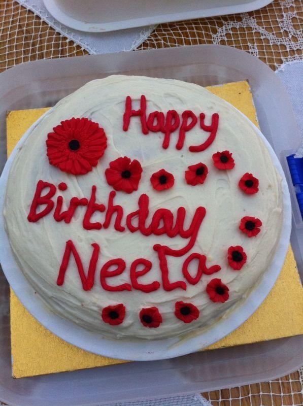 Neela's 72nd Birthday Cake