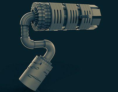 """Check out new work on my @Behance portfolio: """"Light Gun"""" http://be.net/gallery/60750253/Light-Gun"""