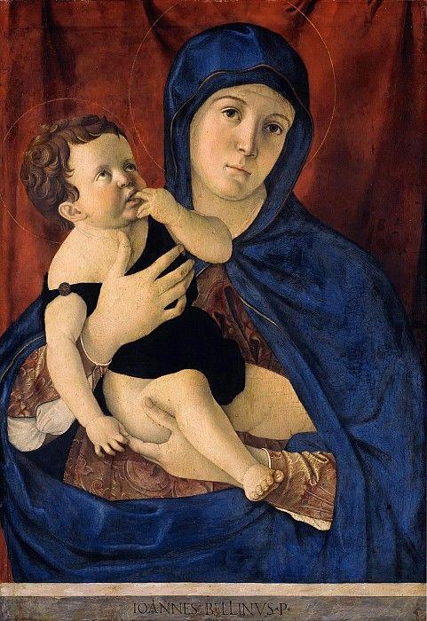 Беллини, Джованни (ок1430-1516) - Мадонна с Младенцем.