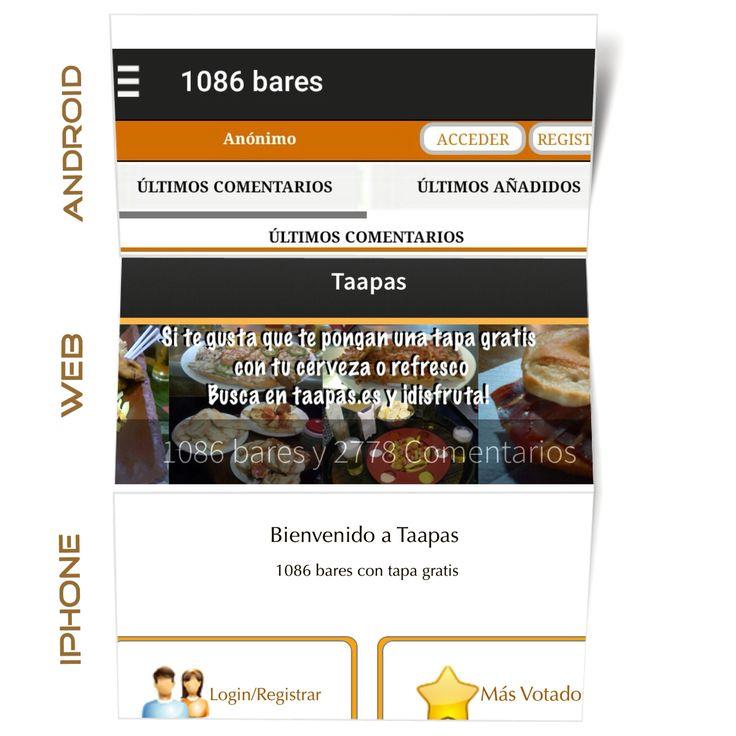 Mas de 1000 #bares de toda #españa donde ponen tapa gratis! Si vas a viajar en semana santa usanos para saber donde tapear.