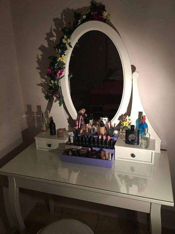 Organizador de maquillaje exhibición de por CraftersCalendar