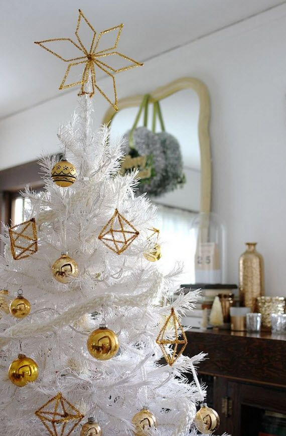 138 best images about oh christmas tree on pinterest gold themed christmas tree