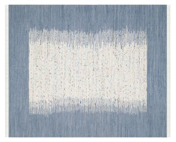 Cay Flat-Weave Rug, Ivory/Blue - Rugs - Sale by Category - Sale | One Kings Lane