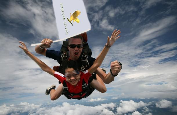 Skydiving with forever #myforeverdream