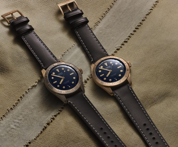 Oris' designers chose to cast the Carl Brashear Limited Edition in bronze precisely because of the natural patina it develops over time through that oxidisation process.   The patina acts as a natural layer of protection, and also gives the watch a special character and beauty. No two examples will age in exactly the same way, making each piece unique.   The process becomes a form of personalisation, telling the owner's story