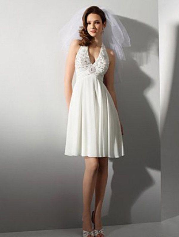 26 best Short Wedding Dresses images on Pinterest Wedding