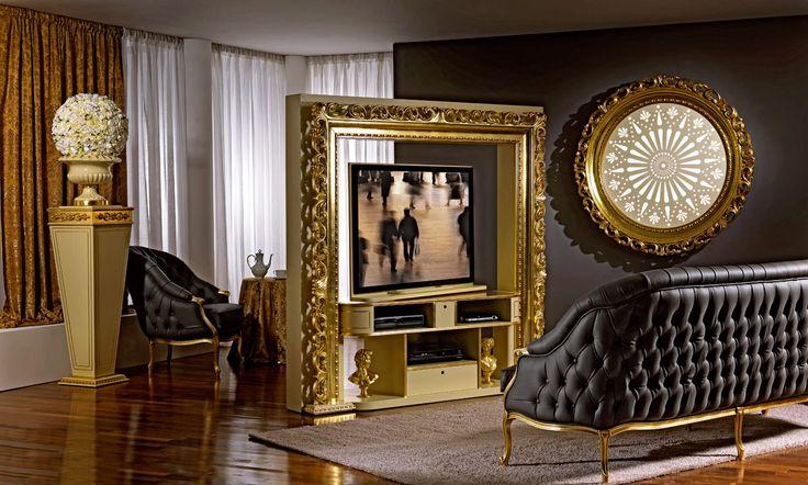 Porta tv da centro stanza tv ruota 360 gradi porta tv for Centro italiano mobili