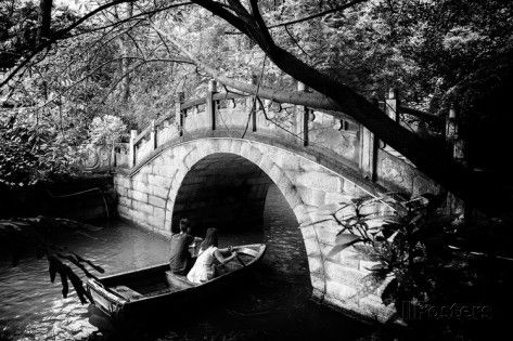 China 10MKm2 Collection - Romantic Boat Ride Photographic Print by Philippe Hugonnard at AllPosters.com