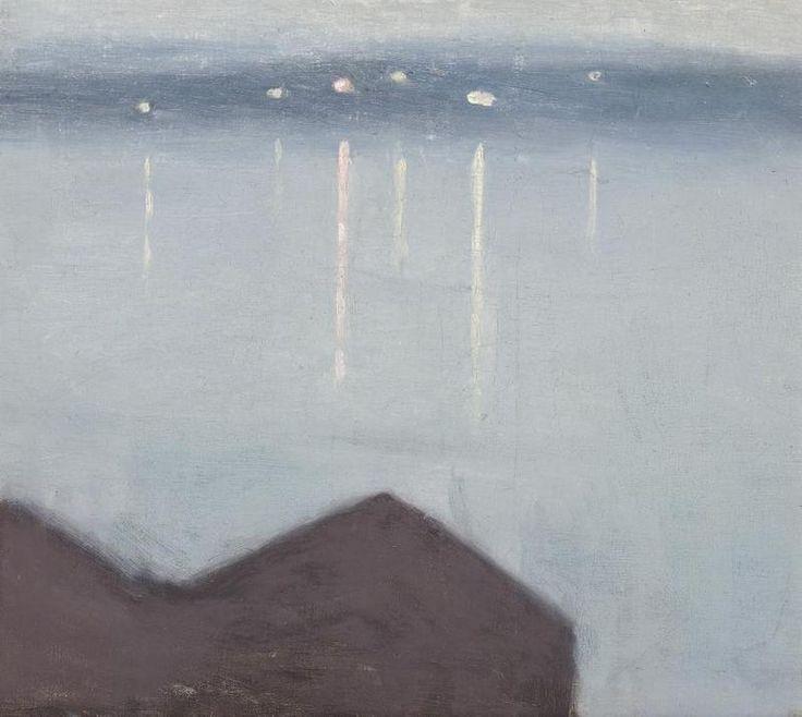Clarice Beckett: Lights Across The Bay 1931