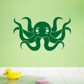 Vinyl Wall Art Octopus