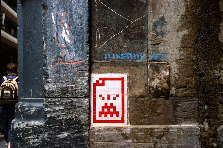 Invader - Melbourne