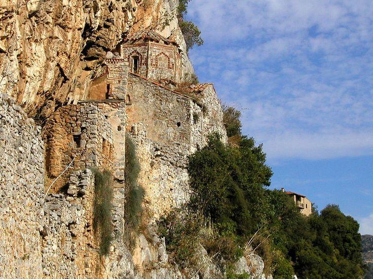 TRAVEL'IN GREECE I Monastery Philosophou, #Lousios, #Peloponnese, #Greece, #travelingreece