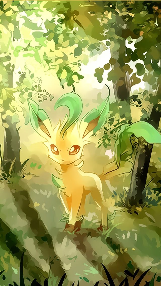 Grass Type Pokemon Pokemon Pokemon Eeveelutions