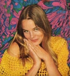 Michelle Phillips from Mammas and Pappas- california girl style