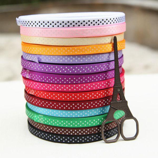 DIY аксессуары ручной работы лоскутные ~ ~ ~ 14-цветная лента лента Shuiyu шириной 1 см 1 юань / м 2