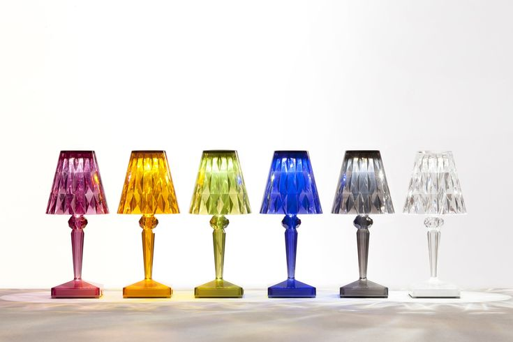 Battery Table Lamps by Ferruccio Laviani for Kartell
