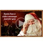 THIS IS SO SO CUTE! Seriously! You have to do this if you have kids!  Free Christmas Video from Santa!