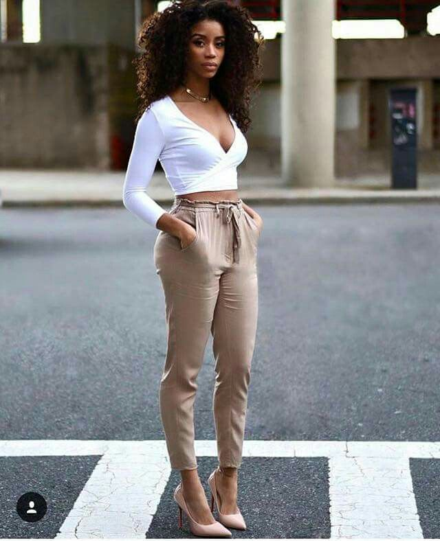 sexiga outfits afrikanska tjejer