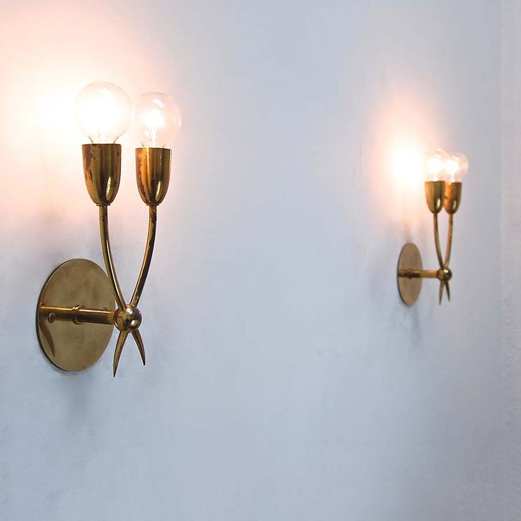 Petite Guglielmo Ulrich Sconces, Part Of Antique Wall Sconces U0026 Lighting At  Lumfardo. Lamps And Wall Lighting From Italy, France, Germany, US U0026 More.