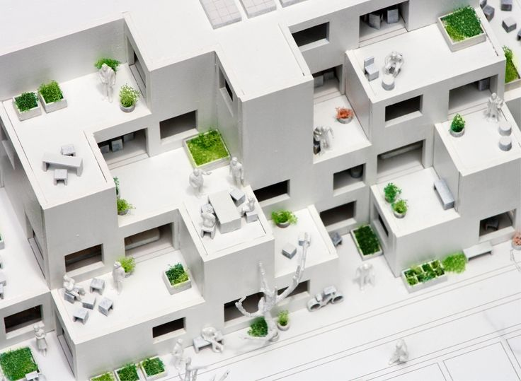 Image 11 of 21 from gallery of Alvenaria Social Housing Competition Entry / fala atelier. model 03